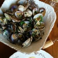 Lazy drunken clams