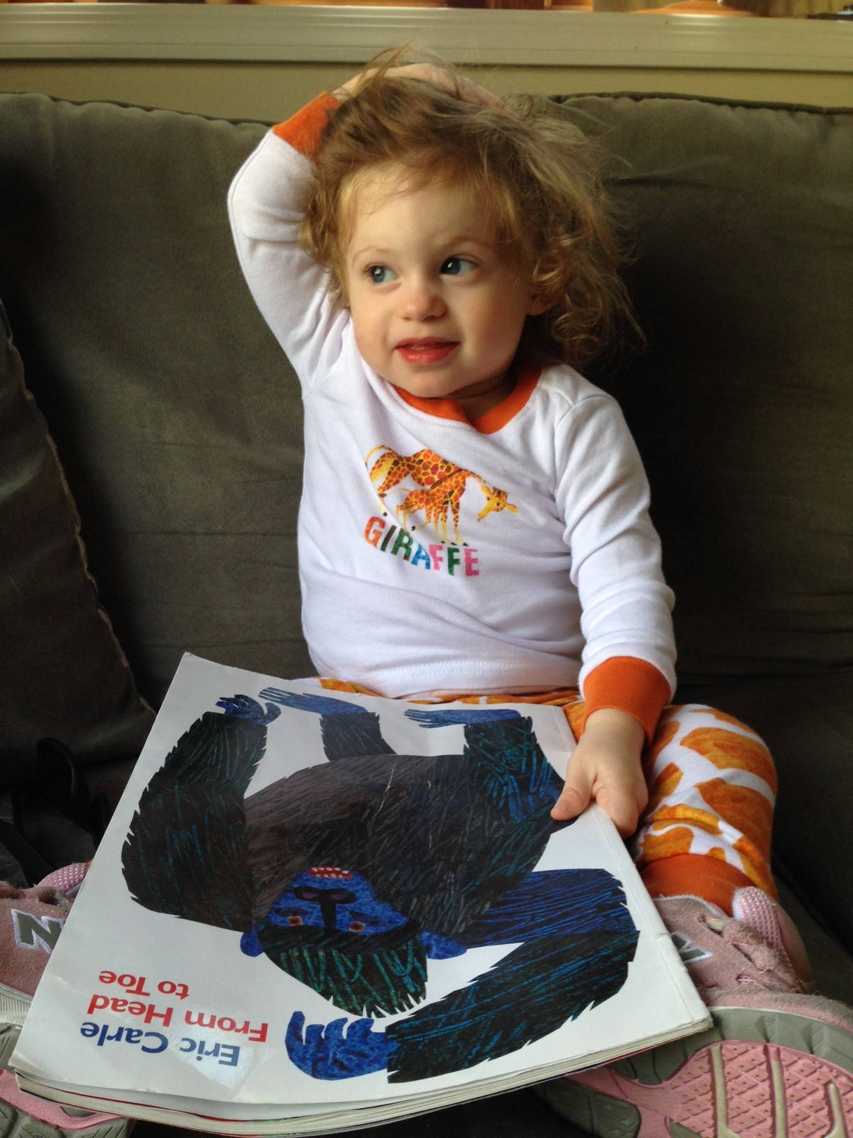 From Head To Toe By Eric Carle Book Review