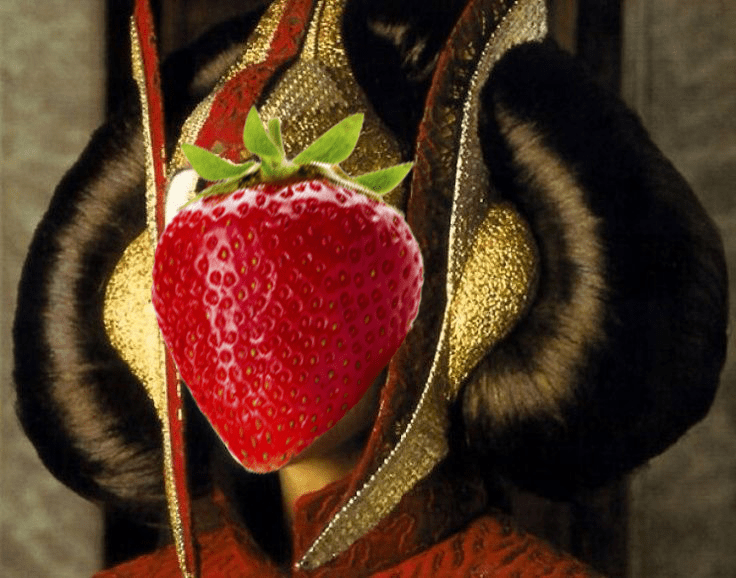 Amidala Strawberry Sponge