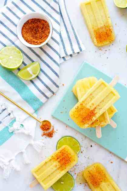 Chile-Lime Mango Coconut Pops recipe (via thepigandquill.com) #vegan #dairyfree