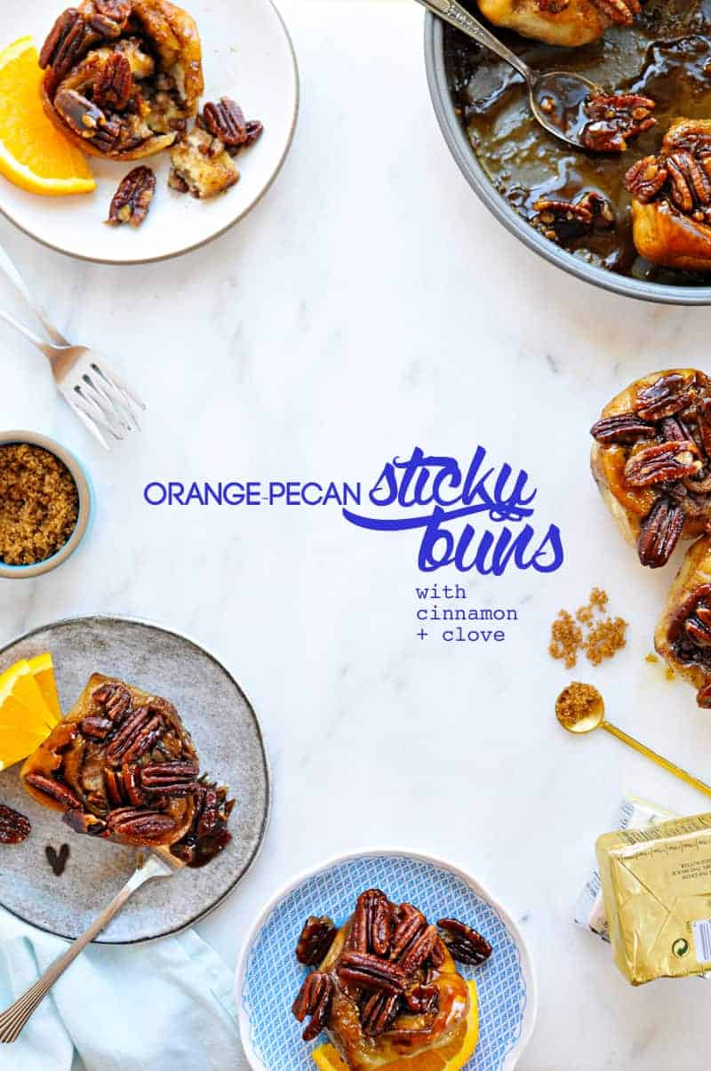 Orange-Pecan Sticky Buns recipe (via thepigandquill.com) #baking #holiday #desserts #breakfast #pastry