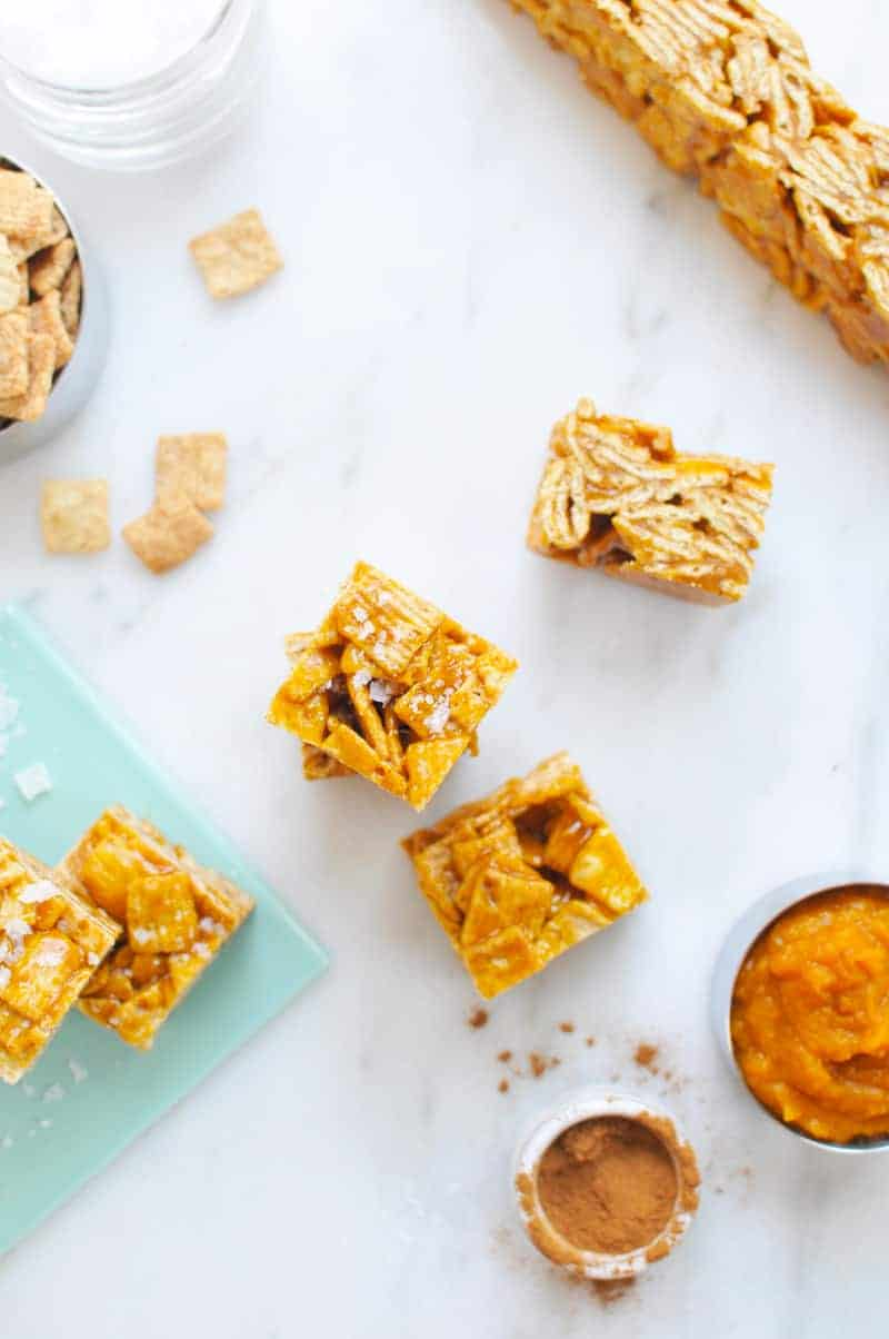 Salted Pumpkin Caramel Cinnamon Toast Crunchies | the pig ...