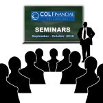 COL Financial Stock Market Seminars – September & October 2016