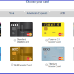 BDO Credit Card Requirements