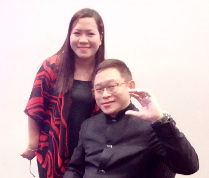 With Mr. Chink Positive, Chinkee Tan