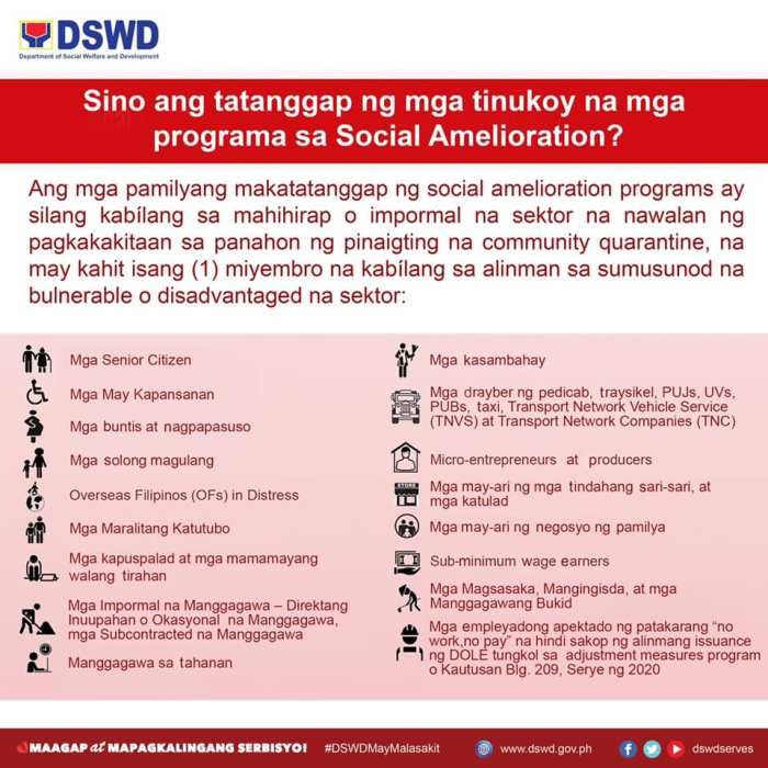 social-amelioration-program