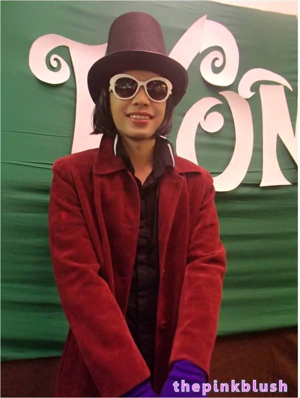 Character Makeup Willy Wonka Johnny Depp Version Pink Blush