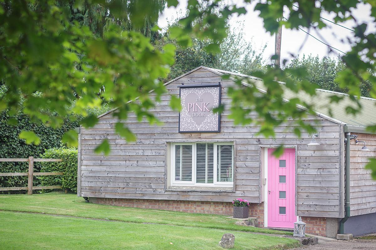 Pink Door Exterior
