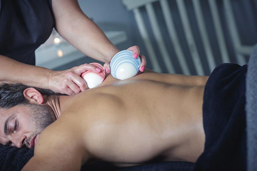 Massage Male Lava Shells