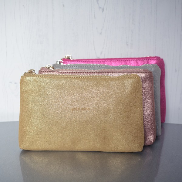 Sparkly Bag Gold