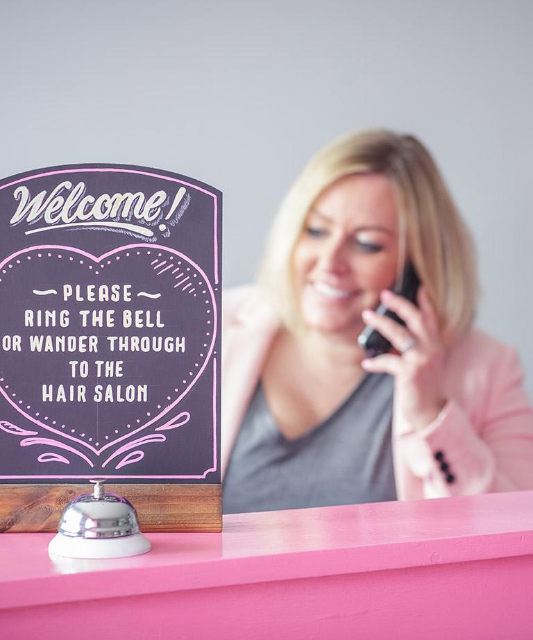The Pink Door Reception