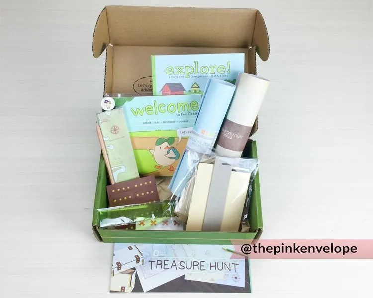 Kids Subscription Box – Kiwi Crate