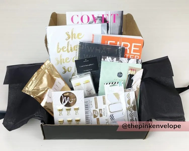 Womens Subscription Box – Covet Crate