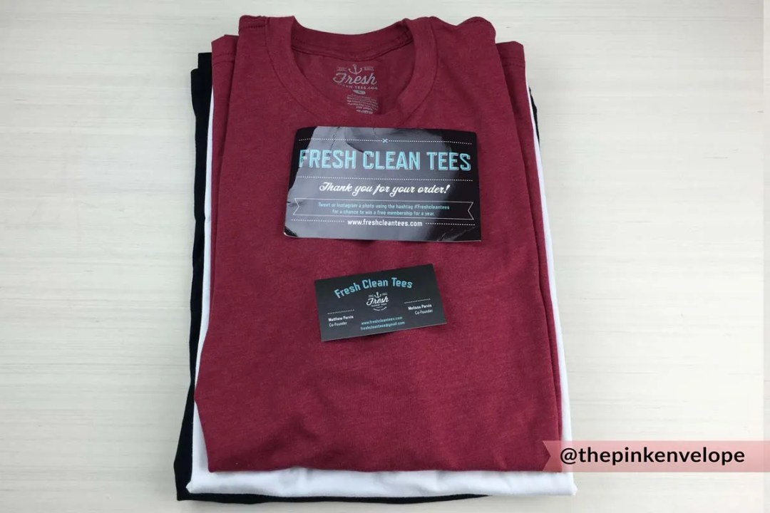 Fresh Clean Tees Unboxing