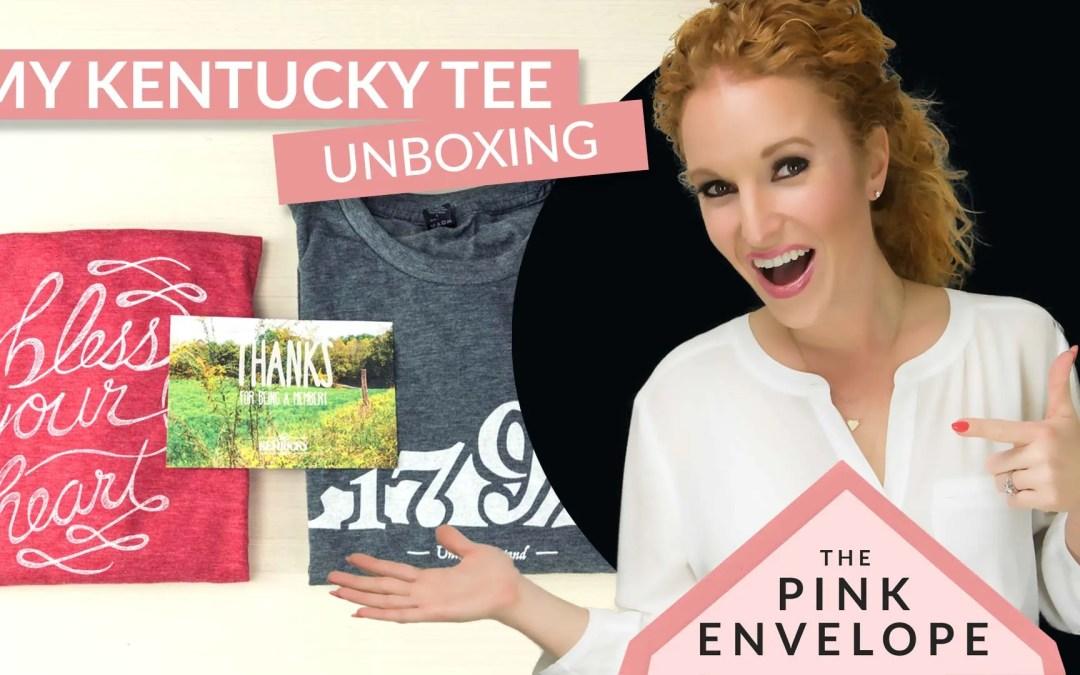 Kentucky T-shirt Subscription Box – My Kentucky Tee Review