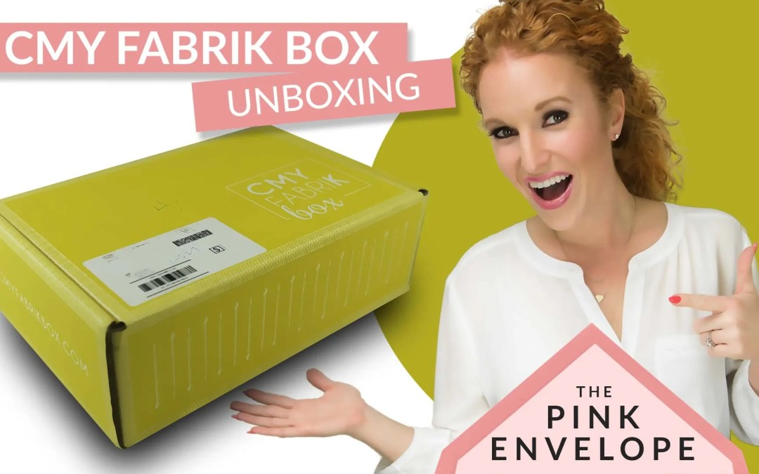 CMYfabriK Box Review – DIY Craft Subscription Box