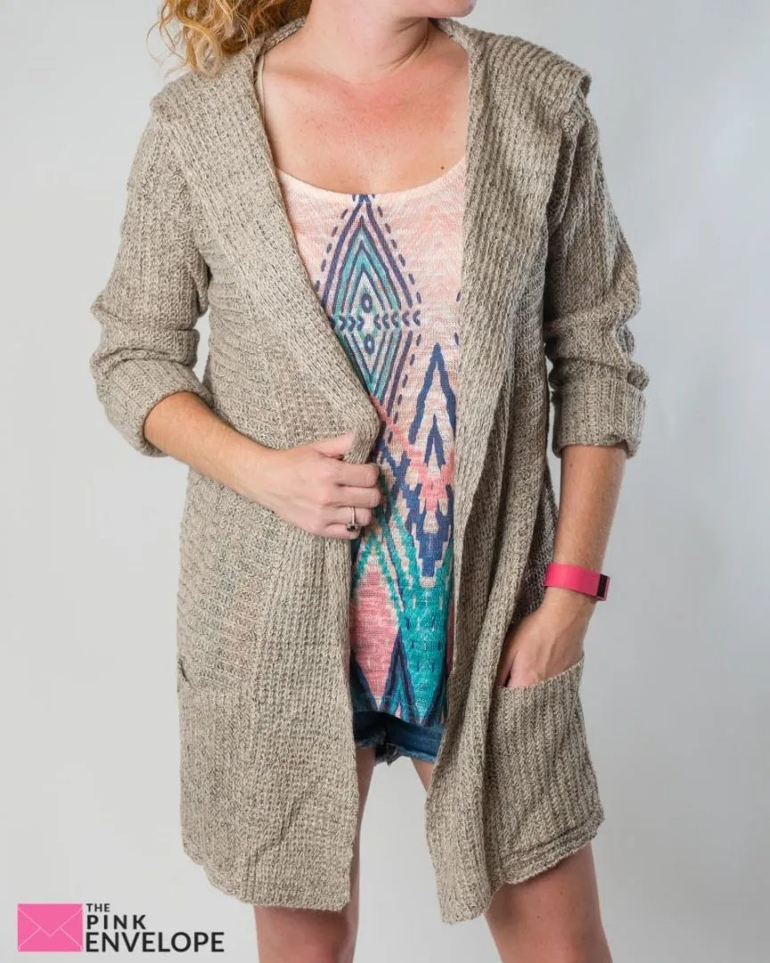 Tamira Hooded Cardigan