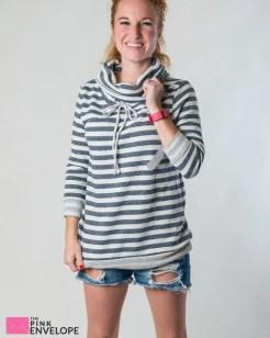 Sevilla Funnel Neck French Terry Sweatshirt