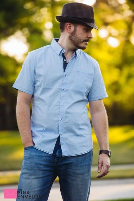 Benson Basic Short Sleeve Polo in Slade