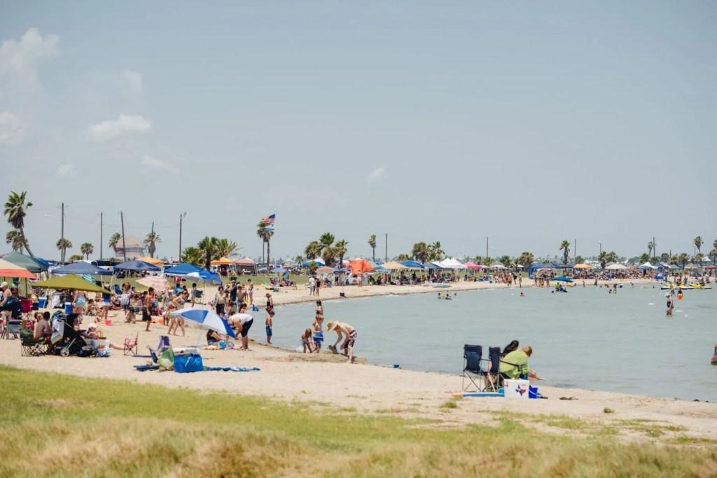 Rockport Texas beach