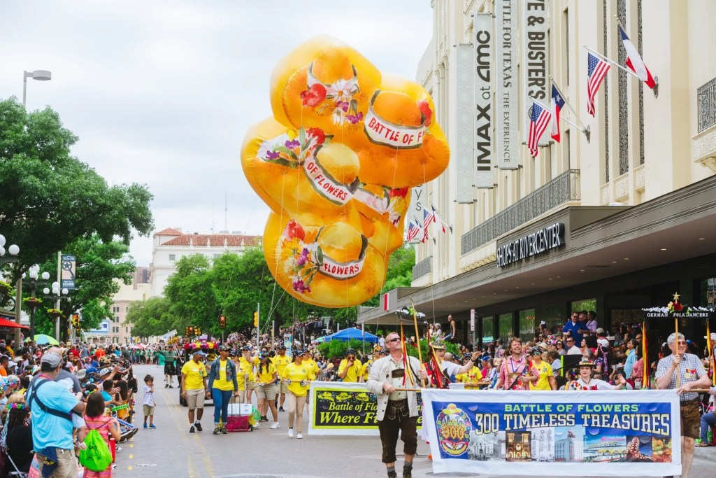 What is the Battle of Flowers parade