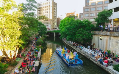 What is the Texas Cavalier River Parade – Fiesta
