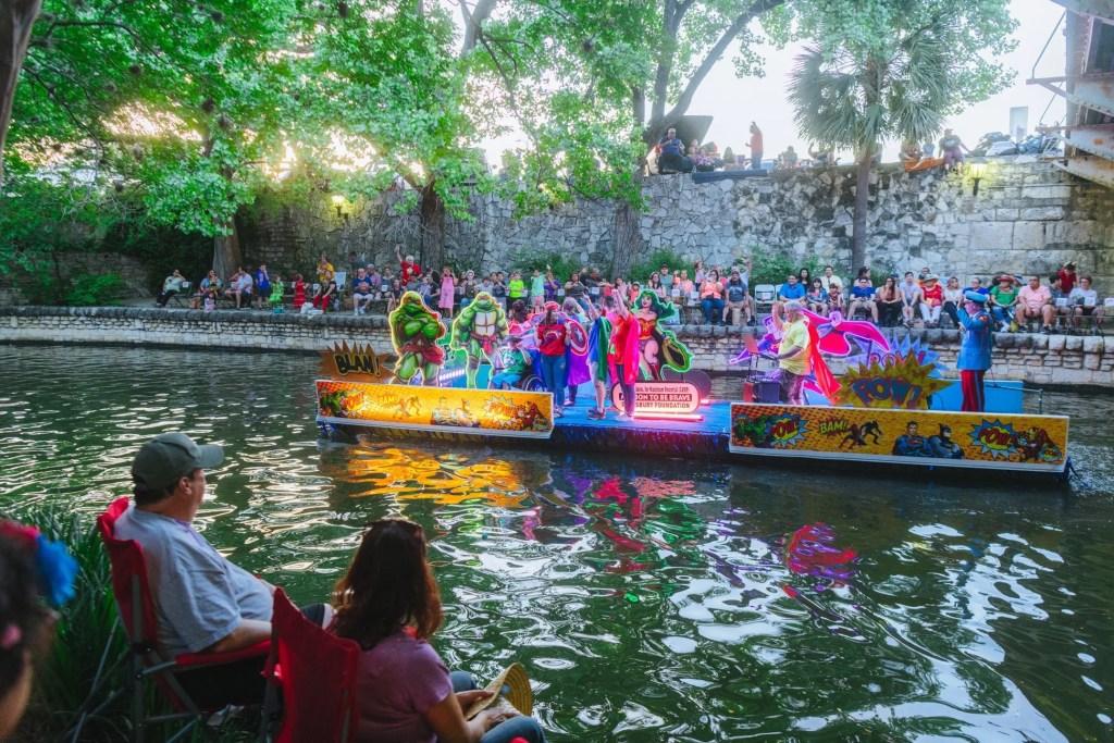 Fiesta Parade Schedule