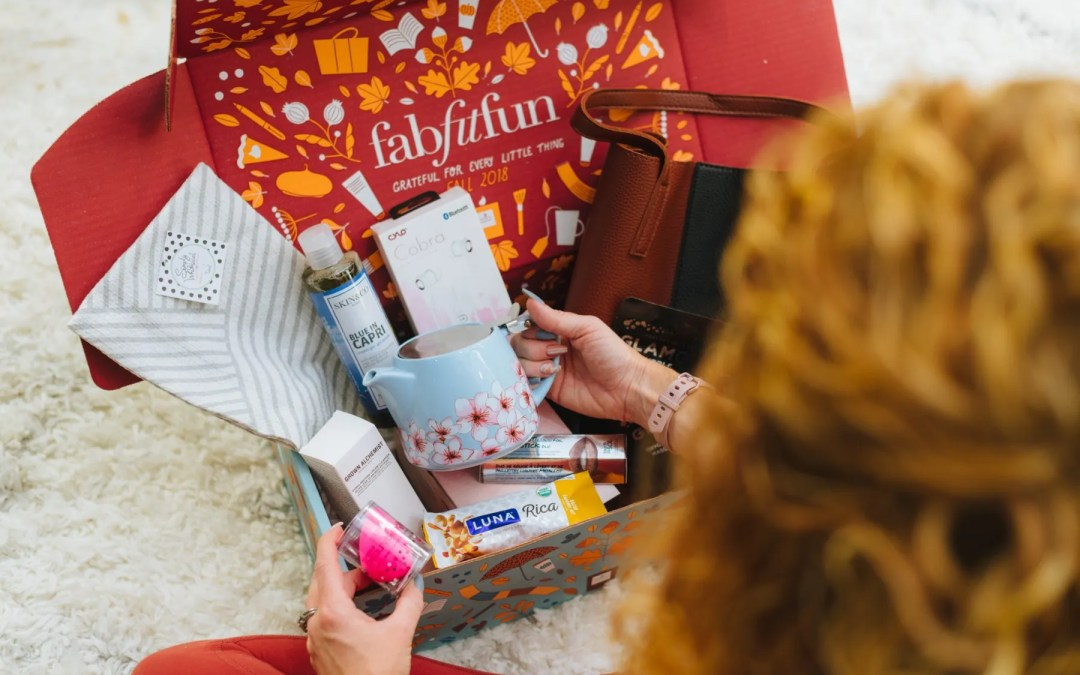 FabFitFun Add ons + Fall 2018 Box
