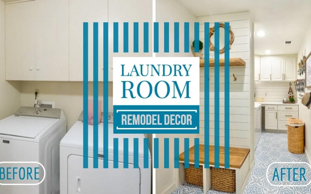 Laundry Room Makeover & Decor Break Down