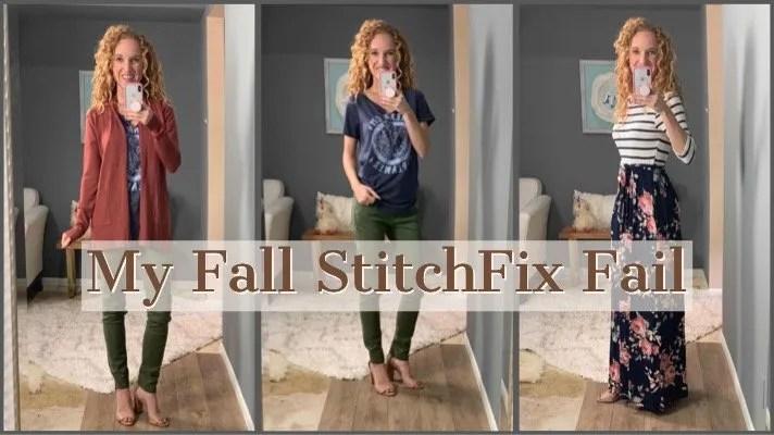 My Fall Stitch Fix Clothing Box – I Think It's a Fail
