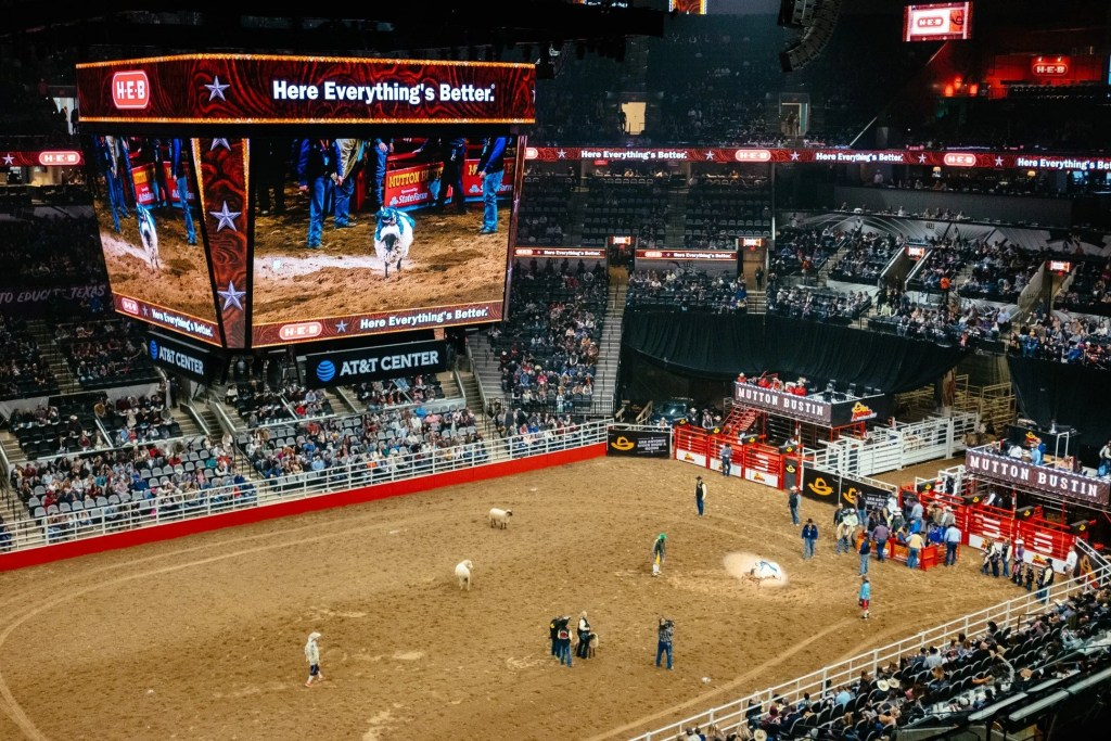 San Antonio Rodeo Bull Riding