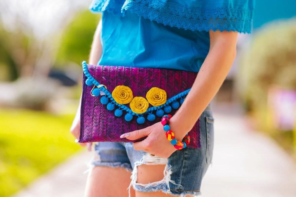 Fiesta inspired purse