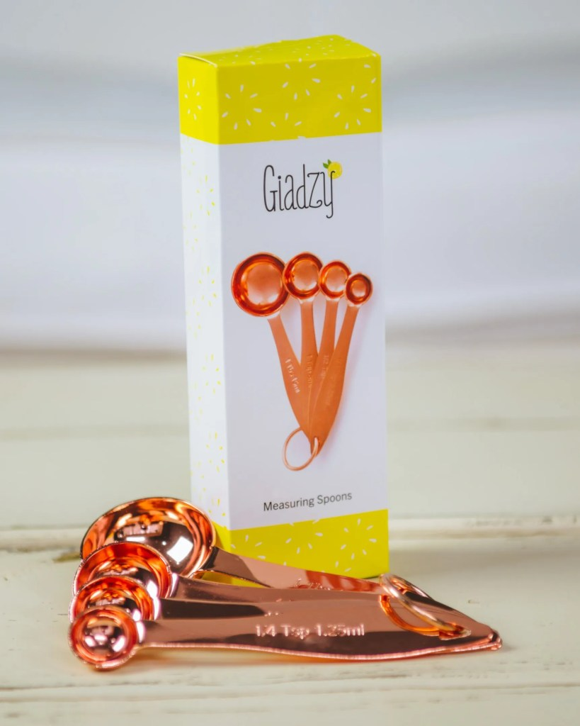 Giadzy Copper Measuring Spoons