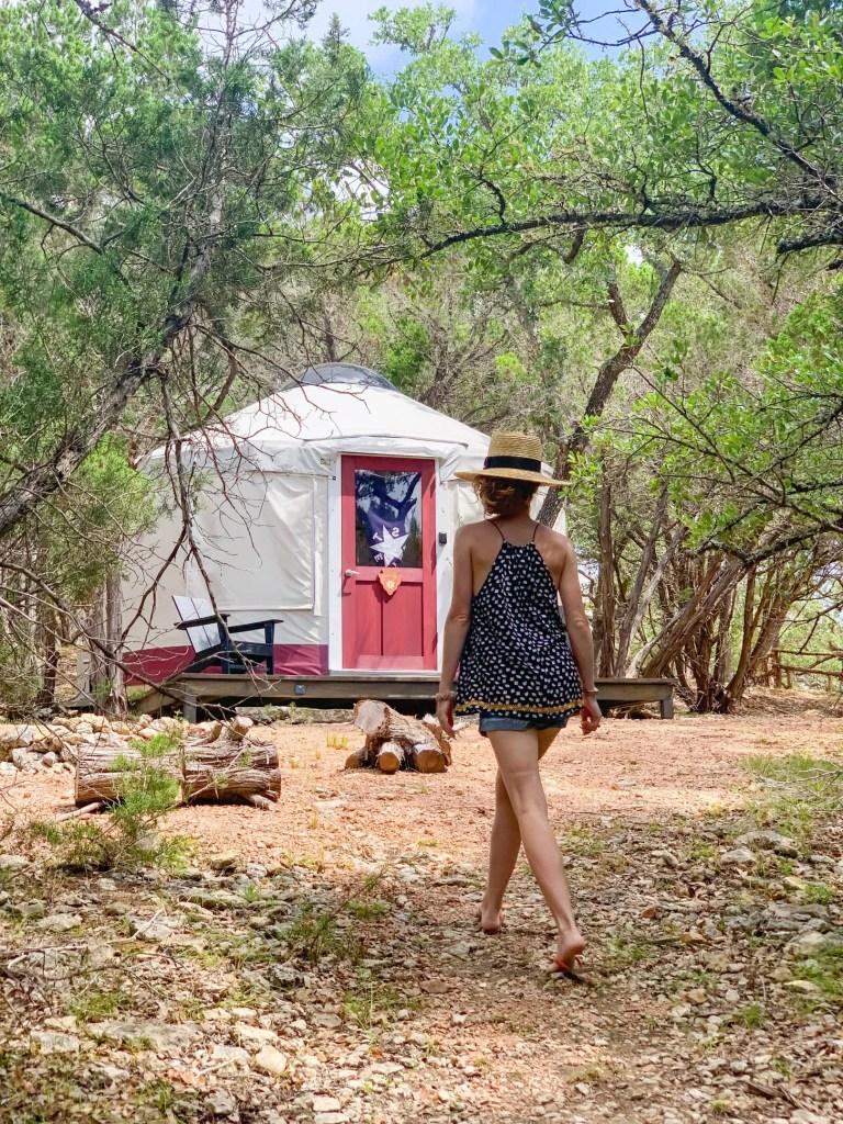 Texas yurts