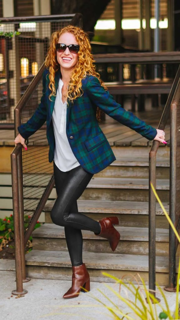 Green Plaid Jacket