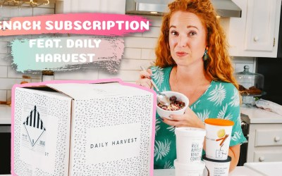 Daily Harvest Coupon, Unboxing & Review
