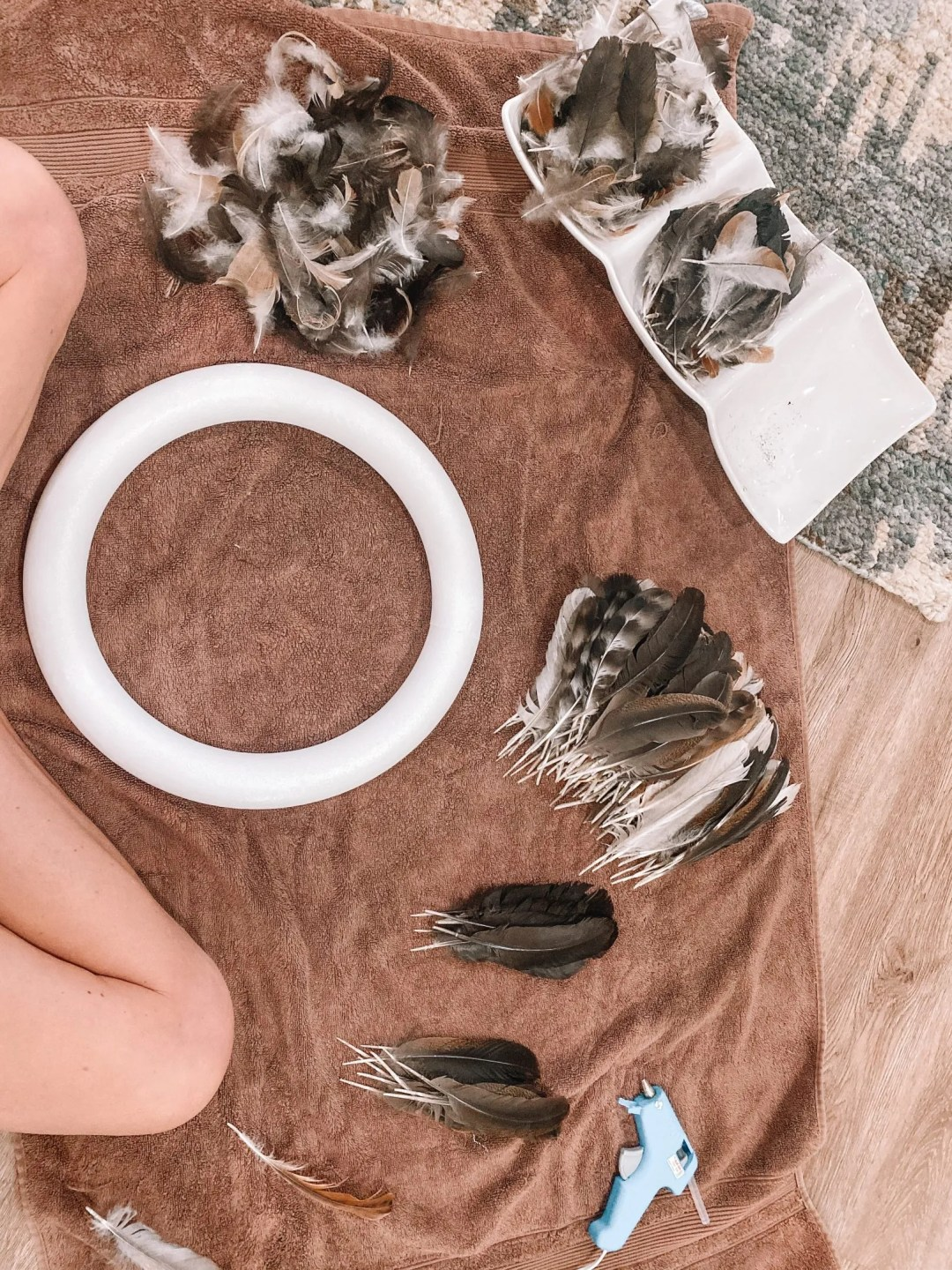 Chicken Feather Project