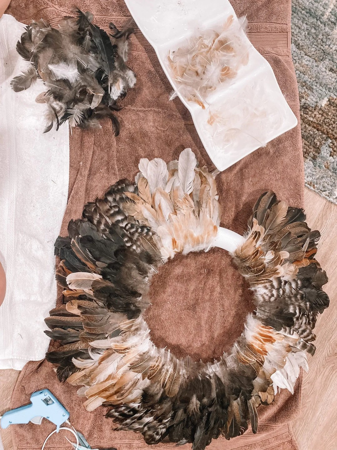 What to do with Chicken Feathers