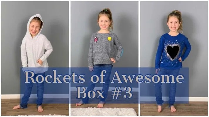 Kid's Clothing Subscription – Rockets of Awesome Review