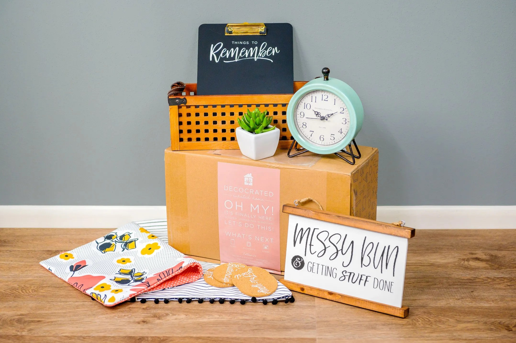 DecoCrated Spring 2019 Box