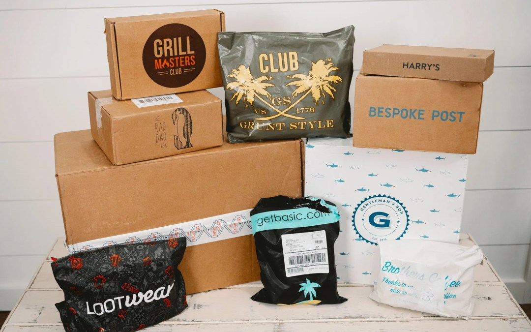 10 Subscription Boxes for Men – Mens Subscription Boxes