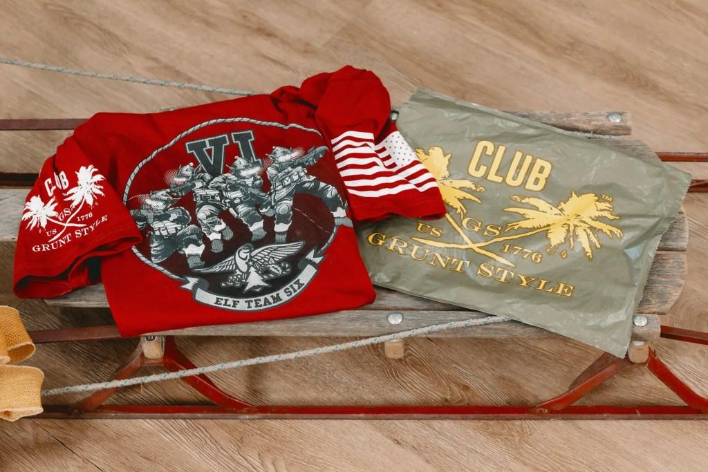 Womens Patriotic T-shirt Subscription