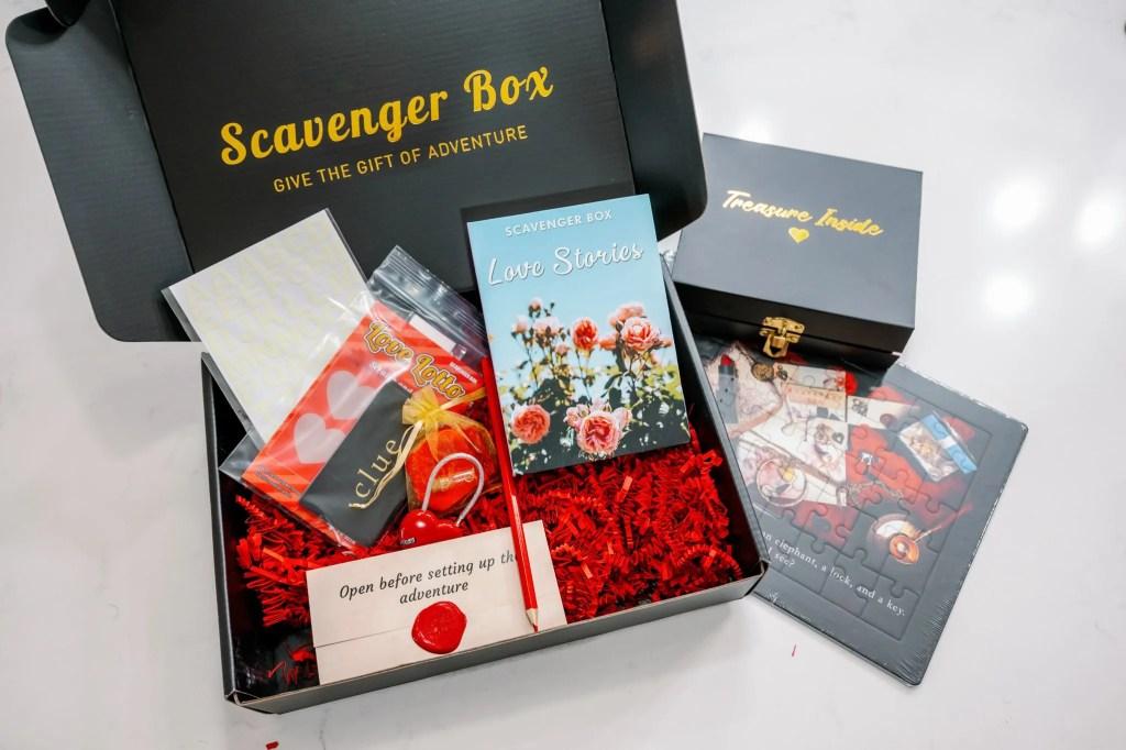 Scavenger Box Love Scavenger Hunt Box