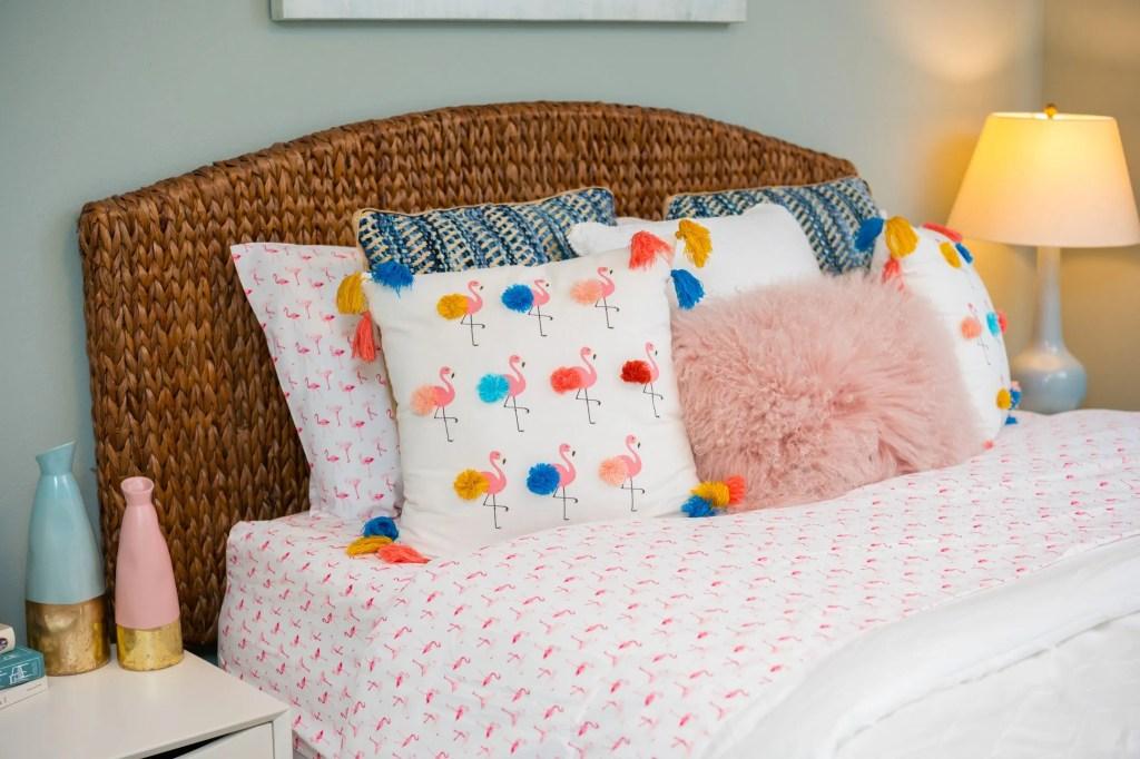 Pink Flamingo Sheets