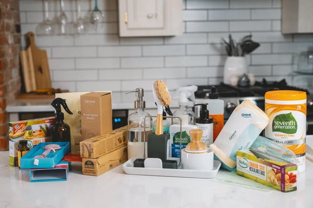 The best Grove Collaborative cleaning supplies