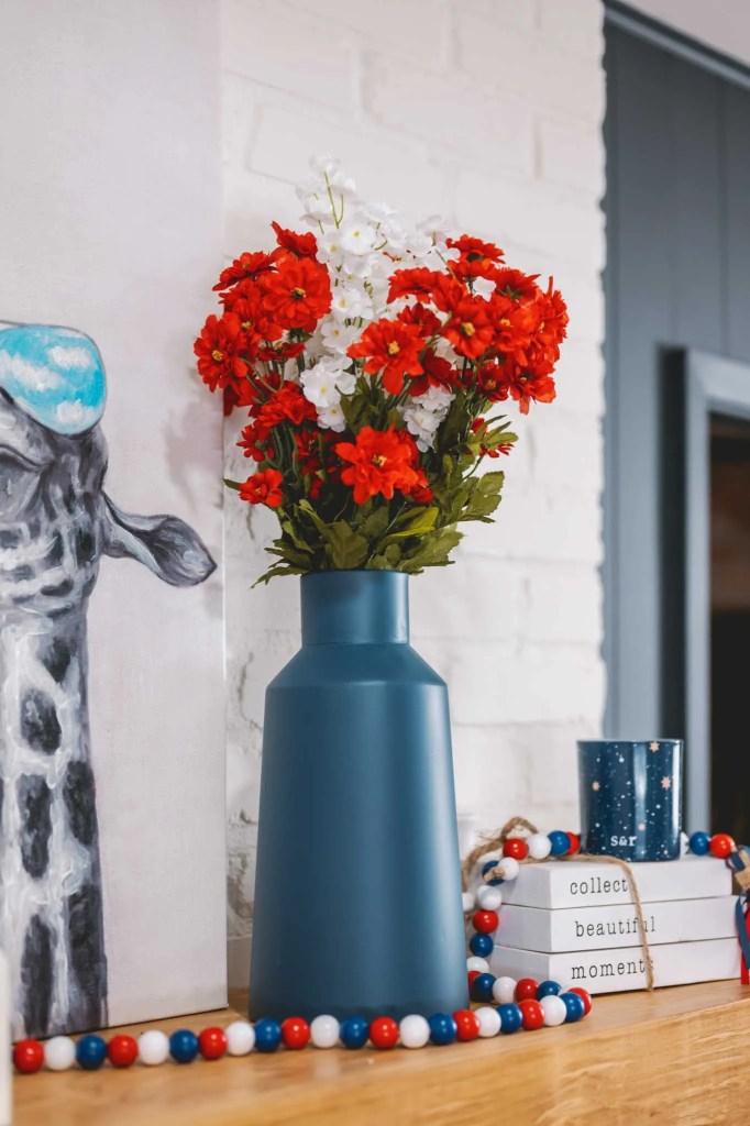 Decocrated New Americana vase
