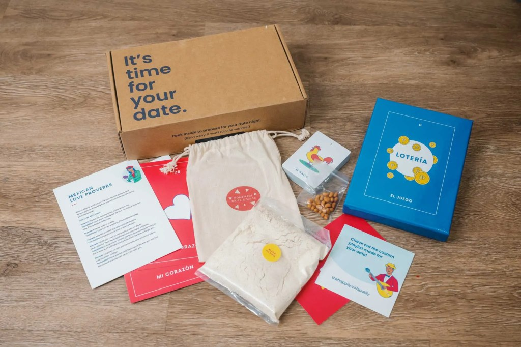 Happily DateBox - Date Night Subscription