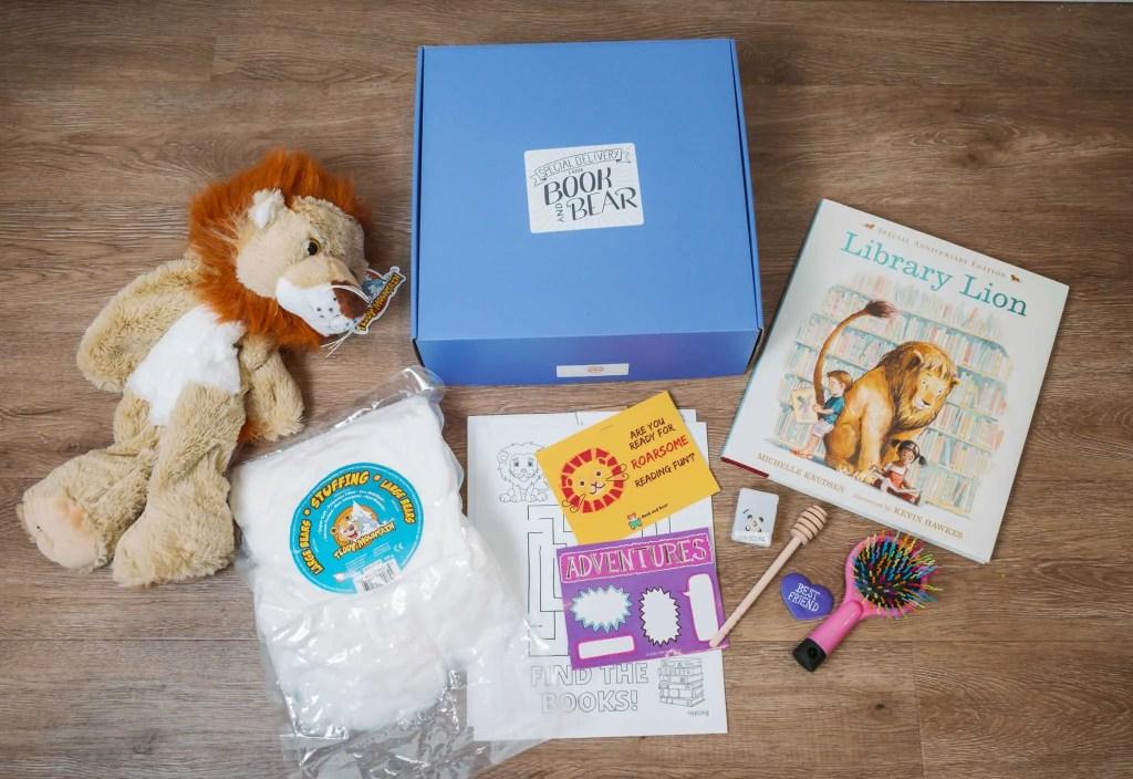Book and Bear Box