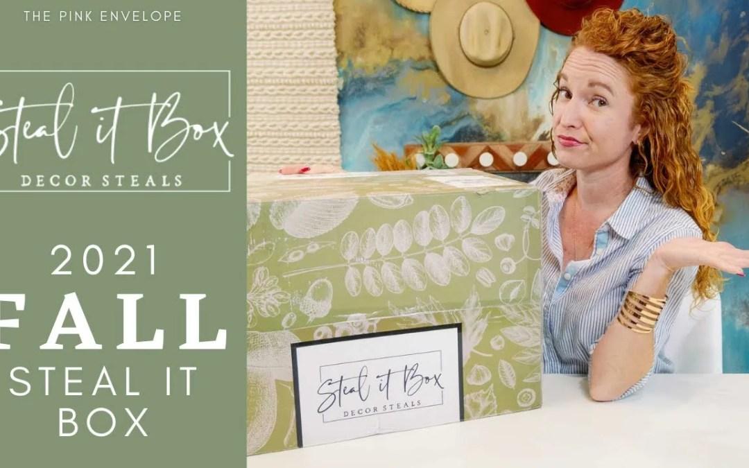 Decor Steals – Steal It Box Fall 2021