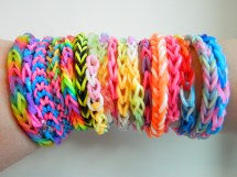 Pastel Rainbow Loom Bands
